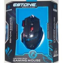 Mouse Gamer Estone X7 2400 Dpi Usb 7 Botões Alta Precisão