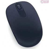 Mouse Sem Fio Microsoft 1850 Usb Azul Escuro Lacrado