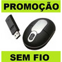 Mouse Sem Fio Wi Fi Para Tablet Pc Notebook Netbook Celular