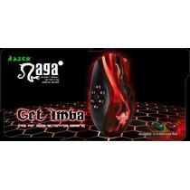 Mouse Razer Naga Hex Wraith Red 5600dpi 6 Botões Usb