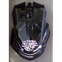 Mouse Gamer Usb Macro Hyperesponse 5200dpi Maxprint 8 Botões