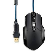 Mouse Gamer Pro Warrior 8 Botões 3200 + Mousepad Mo191 Novo