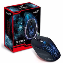 Mouse Gamer Laser Genius Gx X-g510 6 Botoes 2000 Dpi Usb