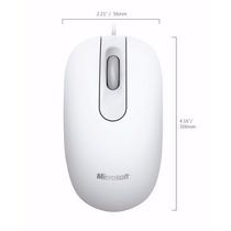 Mouse Microsoft 200 Branco Optical Usb 05 Unidades