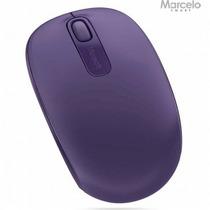 Mouse Wireless Microsoft 1850 Usb 2.0 Roxo Original Lacrado