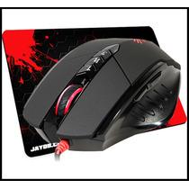 Mouse A4tech X7 Bloody Gun3 V7 3200 Dpi + Mouse Pad Grátis