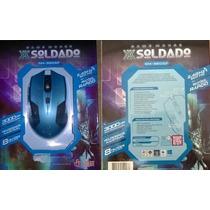 Mouse Gamer Soldado Gm-960 Sf 3000dpi Sem Fio 2.4 Ghz
