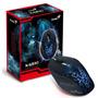 Mouse Gamer Laser Dpi Ajustável Usb Iluminado Genius X-g510