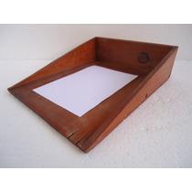 Porta Documentos Arquivo Antigo Madeira De Grande Utilidade.