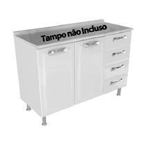 Balcao Itatiaia Premium 2p 4g S/ Tampo