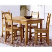 Mesa , Maciça , Cadeira , Conjunto Mesa E 4 Cadeiras