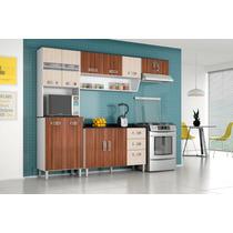 Cozinha Compacta New Lívia 3 Peças Sem O Balcão