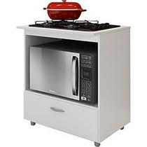 Balcão Para Cook Top E Forno 90l X 80a X 60p
