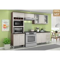 Armários De Cozinha Modulada 4 Pçs 100% Mdf Kali Nicioli