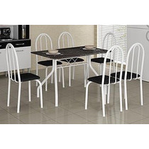 Mesa De Cozinha Granitada 4 Cadeiras 1,20 ( Somente Rj)