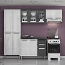 Cozinha Itatiaia Jasmin Em Aço 3 Pçs 9 Portas