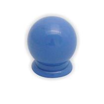 Puxador De Gaveta E Porta De Armário Bola Grande Azul