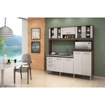Cozinha Kit Florata Compacta Para Pia 100% Mdf Nicioli