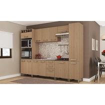 Cozinha Modulada Completa Com 6 Módulos Sense Nature