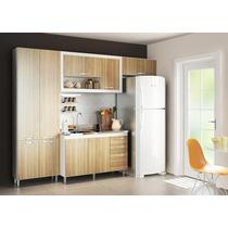 Kit Cozinha 4 Peças Paneleiro Balcão Aérios Multimóveis