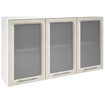 Armário Cozinha Aéreo 3 Portas De Vidro 100% Mdf Nicioli