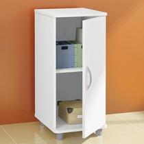 Armário Pequeno Cozinha Branco 1 Porta