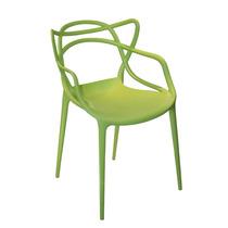 Cadeira Funny Verde Em Polipropileno