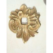 Par De Espelhos Antigos P/ Puxadores Em Bronze (43)