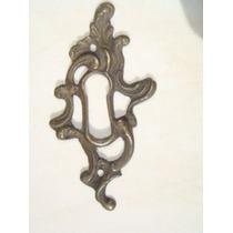 Espelho Antigo P/ Entrada De Chave Em Bronze (36)