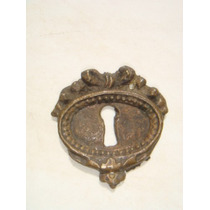 Espelho Antigo P/ Entrada De Chave Em Bronze (39)