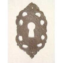 Par De Espelhos Antigo P/ Entrada De Chaves Em Bronze (53)