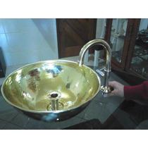 Cuba E Torneira De Metal Amarelo R$200,00 Cada Peça