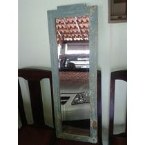 (only Wood) Espelho Espelho De Barbearia Bizote