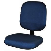 Conjunto Assento / Encosto Para Cadeira Diretor