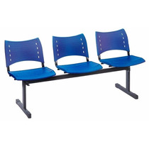 Cadeira Escritório Longarina Banco Recepção