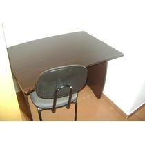 Mesa E 2 Cadeiras Fixas Cinza - Preço De Ocasião