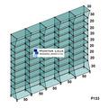 Prateleira Perfumaria Farmácia 2.5m - P133 (conectivos Preto