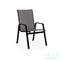 Cadeira Aluminio Piscina Jardim Varanda Area Com Tela Sling