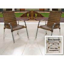 Poltrona / Cadeira De Alumínio Em Fibra Junco Valor Unitário