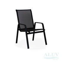 Cadeira Aluminio Com Tela Area / Piscina / Jardim / Varanda