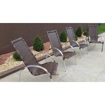 Cadeira De Area Matinhos - Aluminio E Fibra Sintetica