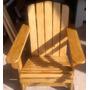 Cadeira De Madeira Adirondack Stain Imbuia Oferta