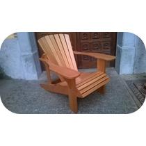 Cadeira Poltrona Madeira Maciça Móveis Jardim E Interiores