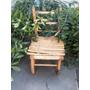 Cadeira Em Madeira Ecodesigner Imperdível!!!