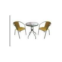 Jogo De Vime Mesa E Duas Cadeiras