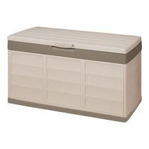 Baú Banco Plástico Branco / Bege Pack & Go Exterior/interior