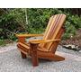 Cadeira De Madeira Andirondack