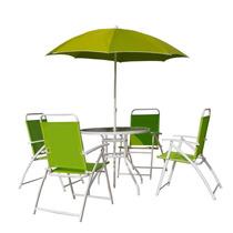 Conjunto De Cadeiras Para Jardim Oxford Com 4 Peças Verde
