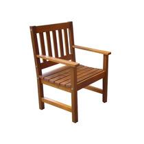 Cadeira/poltrona De Jardim E Varanda Em Madeira Nobre Itaúba