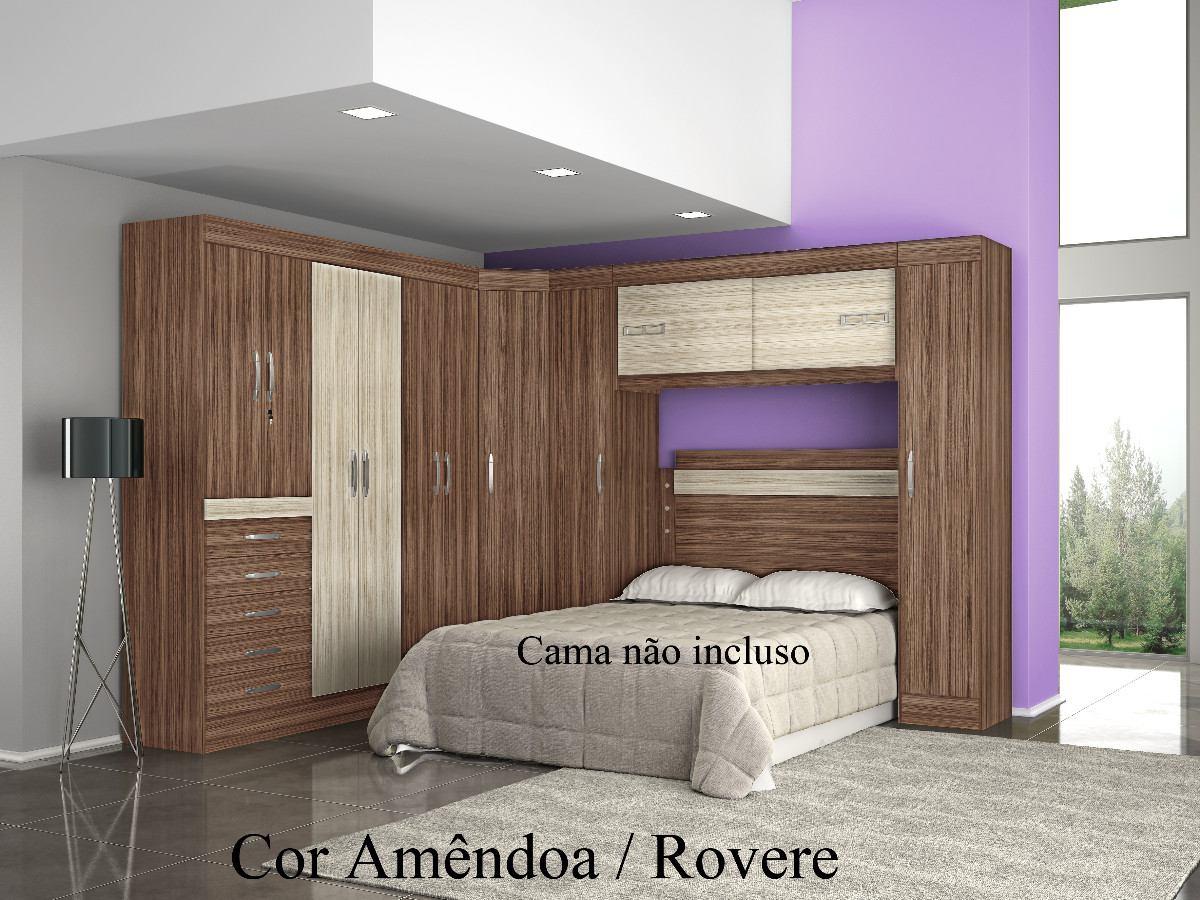 Jogo De Quarto Casal Completo Ricardo Eletro Redival Com ~ Quarto Planejado Casal Preço E Dye Decoração De Quarto